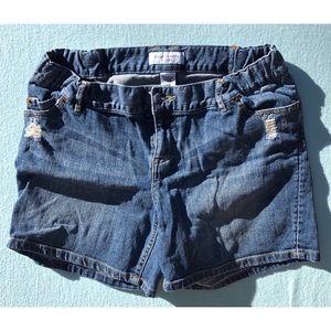 VGUC Liz Lange Maternity Denim Shorts